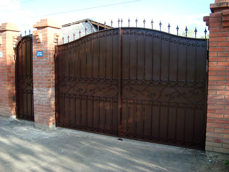 Где в тюмени можно купить распашные ворота профили направляющие для ворот